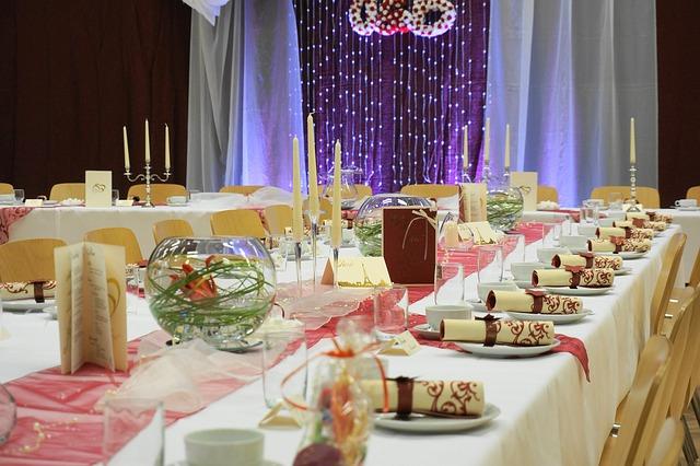 Des décorations de fête originales pour un mariage !